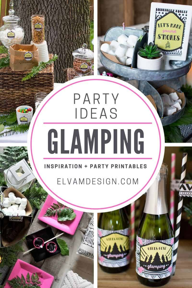 Girls Gone Glamping Party Ideas