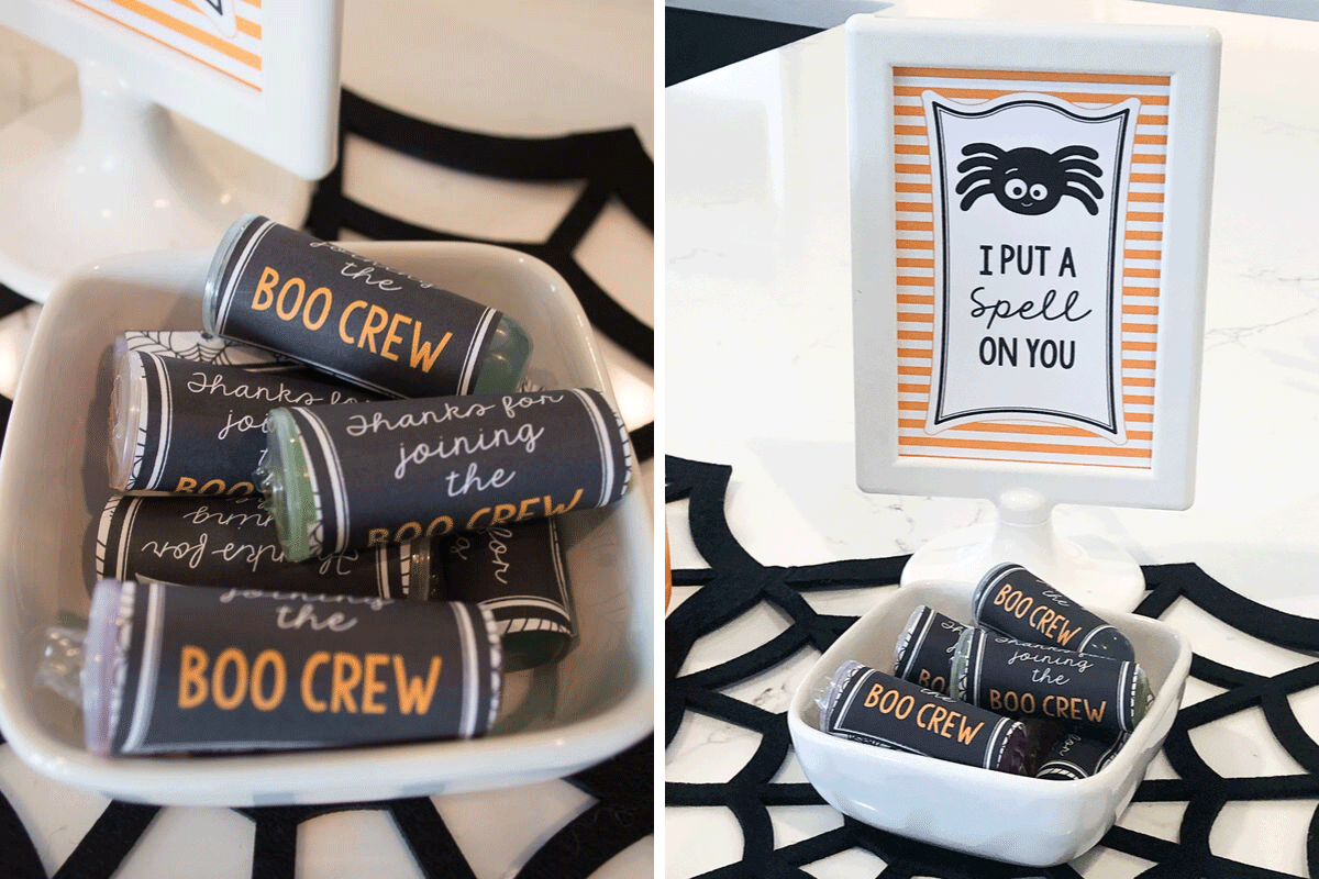 Free Halloween Printables - Kids Halloween Party Favors