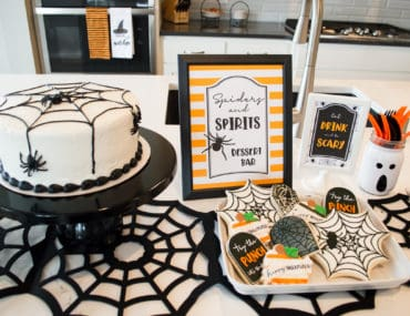 Halloween Treats Table