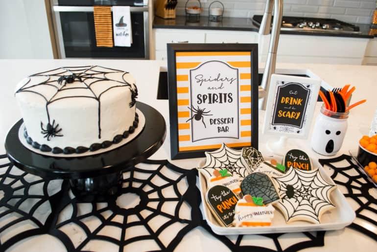 Halloween Treats Table