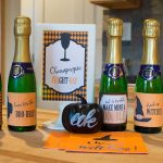 Halloween Mini Wine and Champagne Bottle Labels
