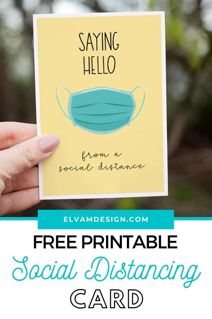 Free Social Distancing Greeting Cards