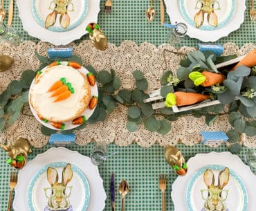 Easter tablescape ideas