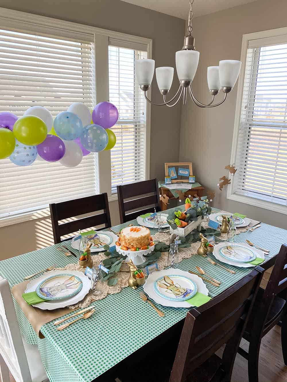Easter dining room