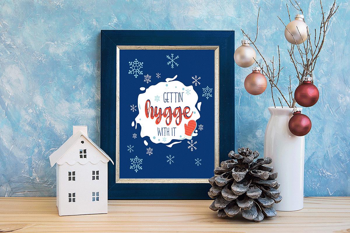 Hygge: Free Winter Printable