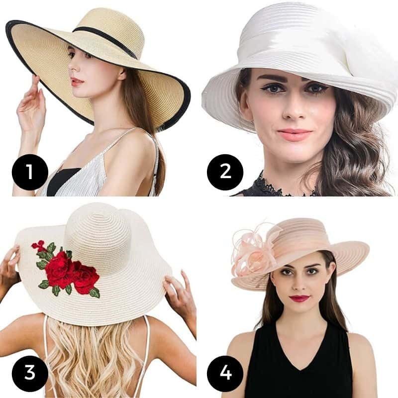Straw hats for the Kentucky Derby