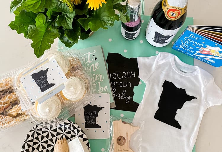 virtual baby shower care package