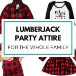 Lumberjack Party Attire