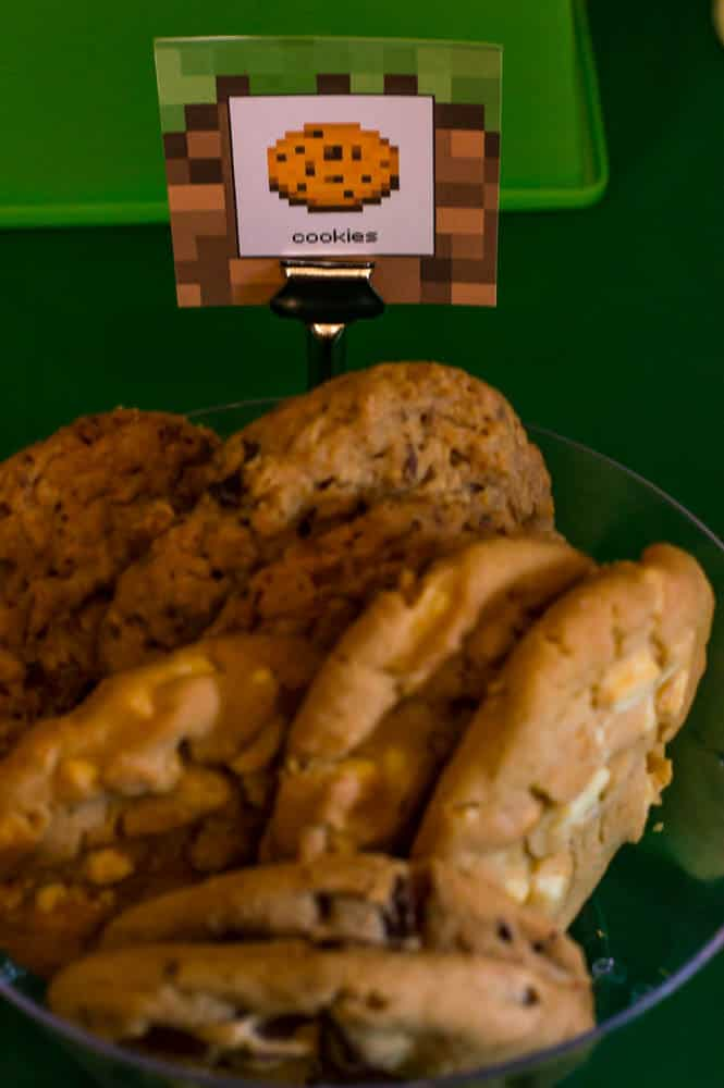 minecraft cookie label