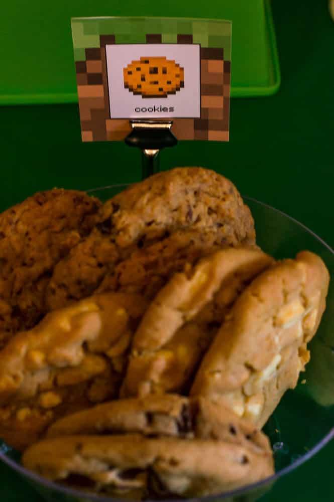minecraft cookie label