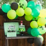 Minecraft Birthday Party (with Free Printables)