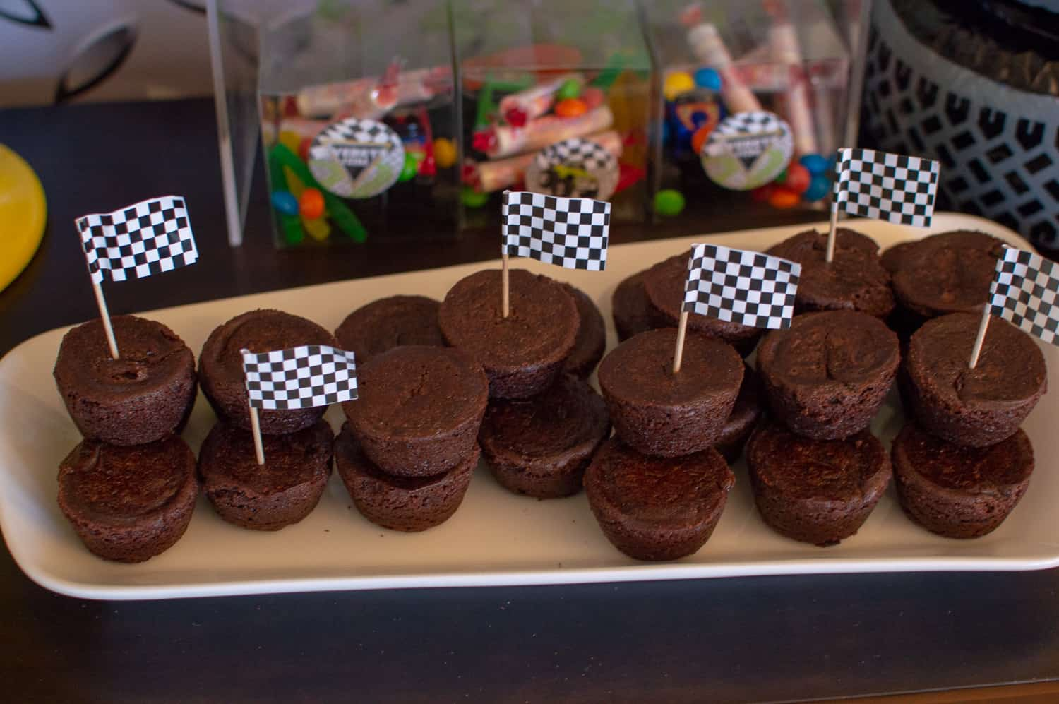 "Mini Brownies become ""spare tires"""