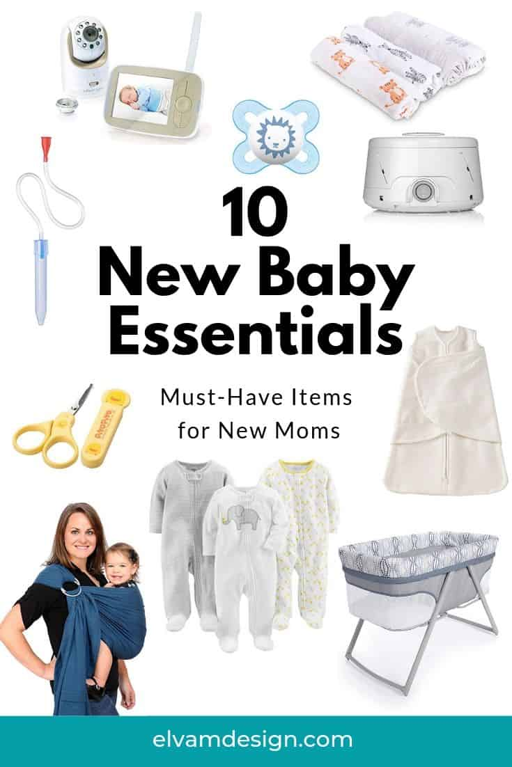 10 new baby essentials for new moms