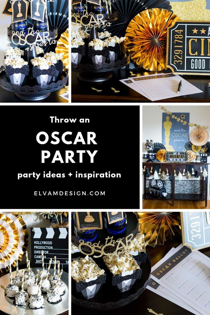 And the Oscar Goes To... Throw an Oscar Party with these ideas and inspiration.