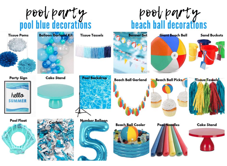 Pool Party Theme Options