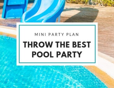Throw the best pool party