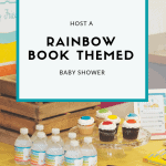 Rainbow Book Themed Baby Shower