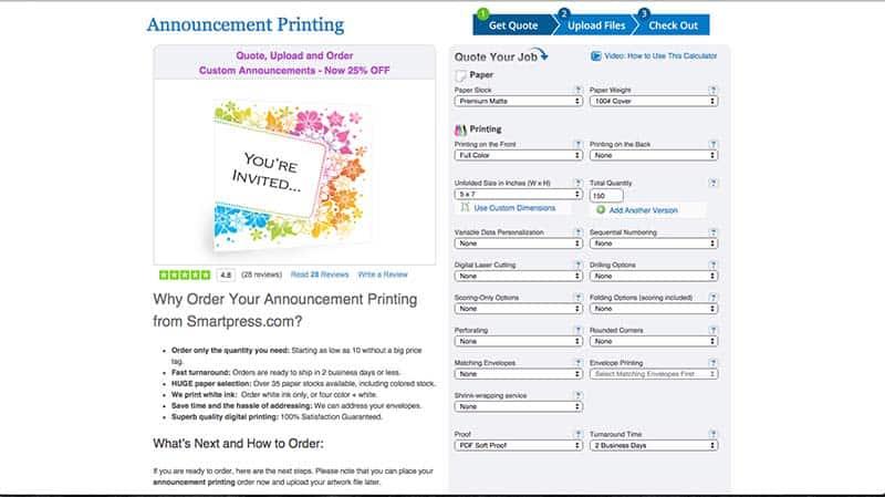 smartpress.com ordering