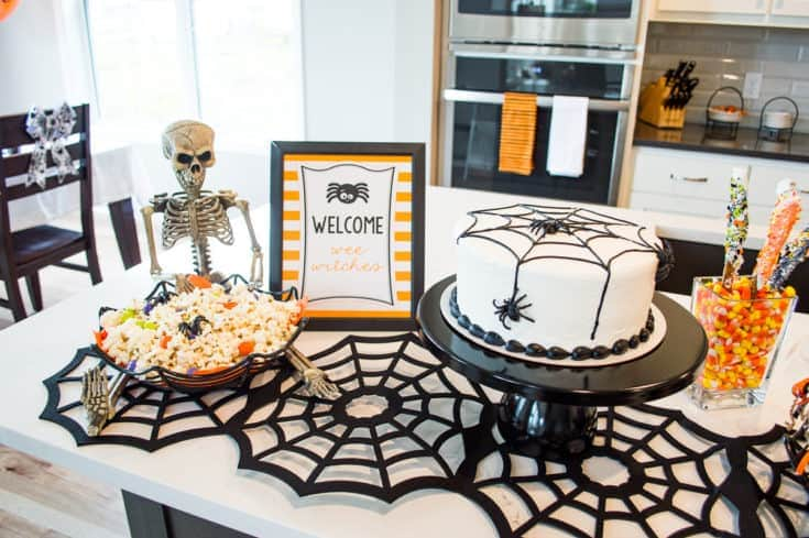Silly Spider Halloween Party for Kids with Free Printables
