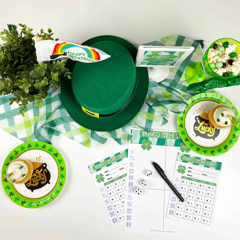 St. Patrick's Day Bunco Ideas
