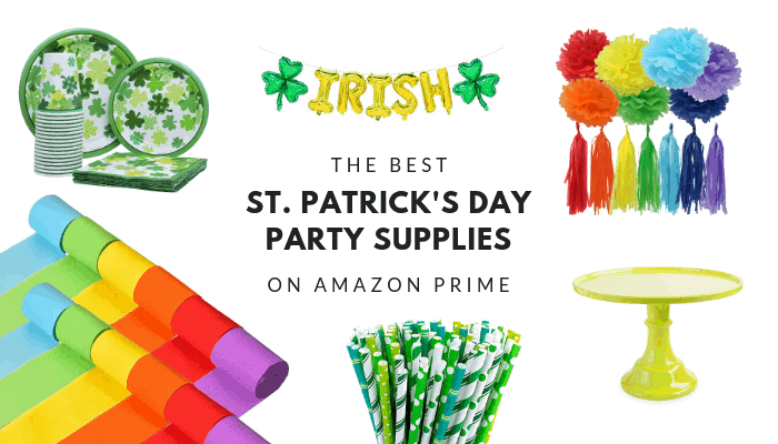 St. Patrick's Day Party Supplies on Amazon