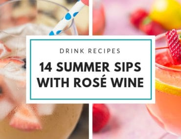 Summer Rosé Wine Cocktails