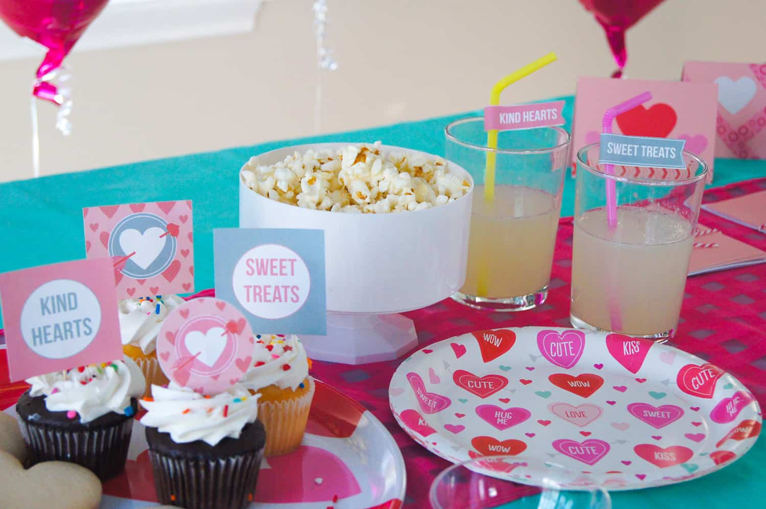 Sweet Treats + Kind Hearts Play Date Party Food