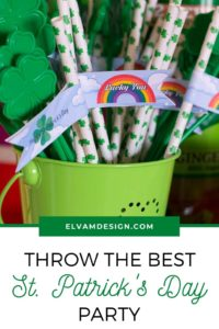 Throw the best St. Patrick's Day Party