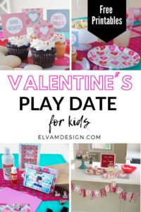 Valentine's Playdate for kids