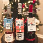 Free Christmas Wine (and Spirits) Hang Tags